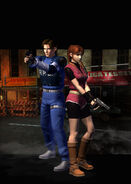 RE.NET Extra File Claire Redfield (+Leon)