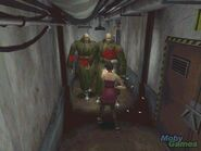 Two T-103s in Resident Evil 2