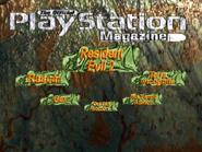 RE2 Preview 2 menu