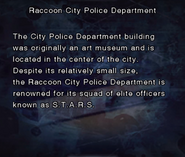 RE DC Raccoon City Police Department file page1