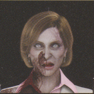 Degeneration Zombie face model 1