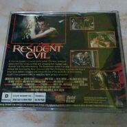 Resident Evil Indonesian VCD - rear
