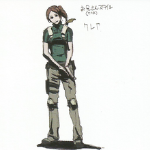 BIOHAZARD REVELATIONS 2 Concept Guide - Chris-style Claire.png