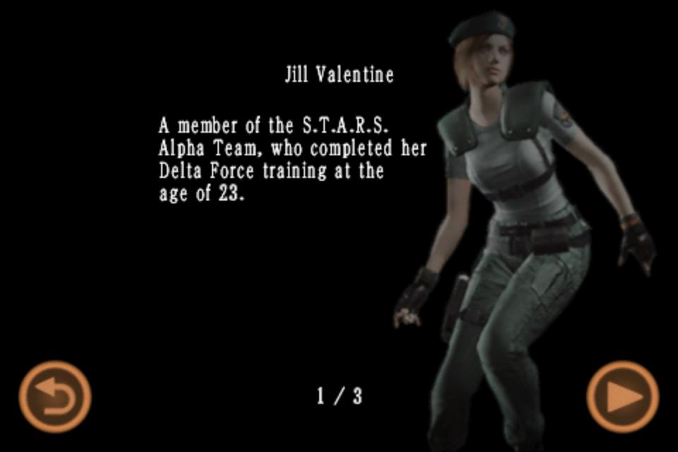 Jill Valentine (Mobile Edition file)
