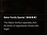 Baker Family Special (★★★★)