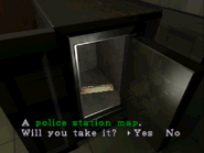 RE2 police station map safe opened