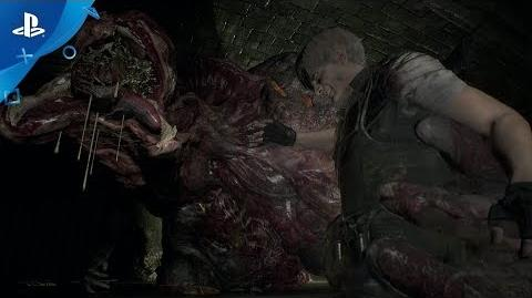 Resident Evil 2 - Leon Gameplay- Familiar Faces - PS4