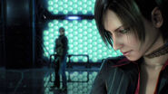 Leon and Ada in the vault