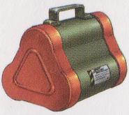 Resident Evil 0 Napalm Grenades concept art