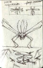 Resident Evil 6 deleted material - Flying Creature.jpg