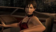 RE4 Ada on a boat
