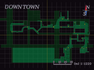 Downtown Raccoon City