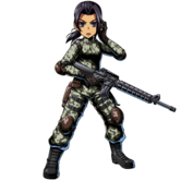 BIOHAZARD Clan Master - Character animation - Willow 1