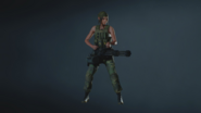 RE2 remake MODEL - Claire (Military)