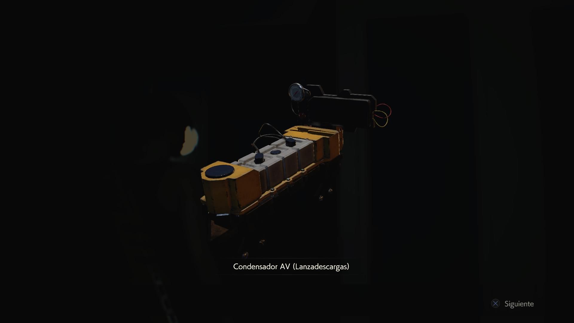 Condensador AV (Lanzadescargas)