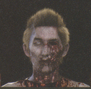 Degeneration Zombie face model 47