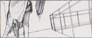 Leon vs. Chris storyboard 1