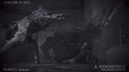 William Birkin mutant ambushes the USS Alpha Team