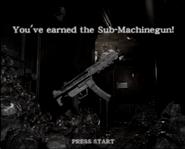 Resident Evil 0 Sub-machinegun unlock
