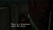 Resident Evil CODE Veronica - passage in front of prisoner building - examines 03-2