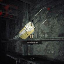 Resident Evil 7 Teaser Beginning Hour Attic Window Key pick up.jpg