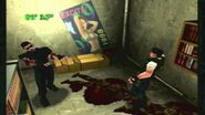 Zombie-Wesker in Battle Game in Sega Saturn version