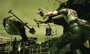 Mercenaries 3D - Rebecca gameplay 7