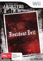 Resident Evil Archives AUS