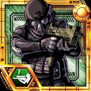 BIOHAZARD Clan Master Card - Agent