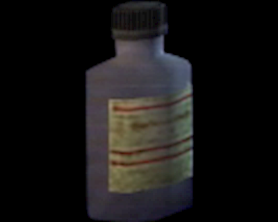 Empty Chemical Bottle