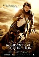 Resident Evil Extinction poster 7