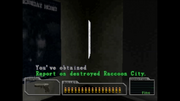 Survivor file - Report on destroyed Raccoon City - location.png