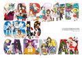 Capcom Girls Calendar 2012 art