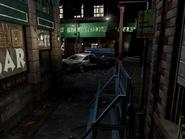 Resident Evil 3 background - Uptown - boulevard j2 - R11E09
