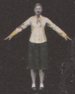 Degeneration Zombie body model 61