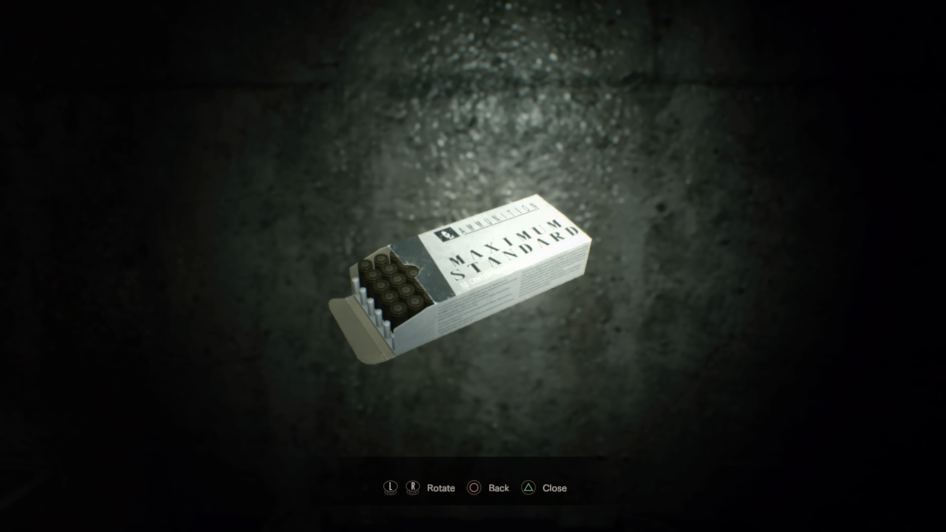 Machine Gun Ammo (RE7)