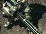 Gatling Gun (RE5)