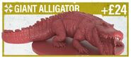 Giant Alligator BG