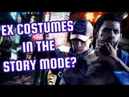 Resident Evil 6 Demo (Nintendo Switch) - EX1 Costume in the Story Mode