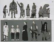 Resident Evil 7 family concept art