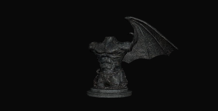 Estatua negra