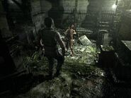 Resident Evil remake screenshot1