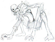 Early Licker concept art 7