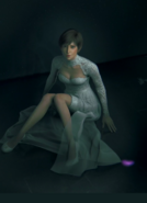 Rebecca in Wedding Dress