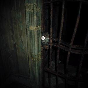 Resident Evil 7 Teaser Beginning Hour Basement Key use location.jpg