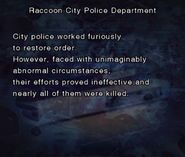RE DC Raccoon City Police Department file page5