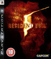 Resident Evil 5 PlayStation 3 PAL Box Art FRONT BBFC