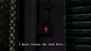 Resident Evil CODE Veronica - square in front of the guillotine - examines 03-4