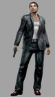 Resident evil outbreak david king artwork 3d model ingame mafia thug alternate costume