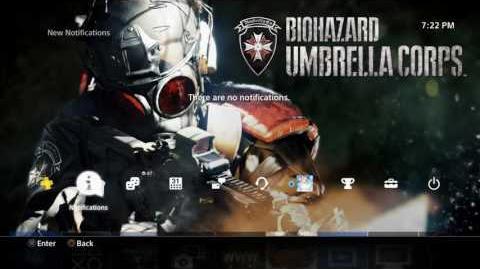 BIOHAZARD UMBRELLA CORPS (PS4 theme)